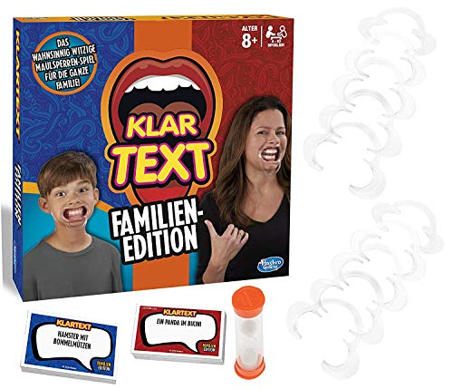 Klartext Familien-Edition - Partyspiel mit Lachgarantie für Klein und Groß