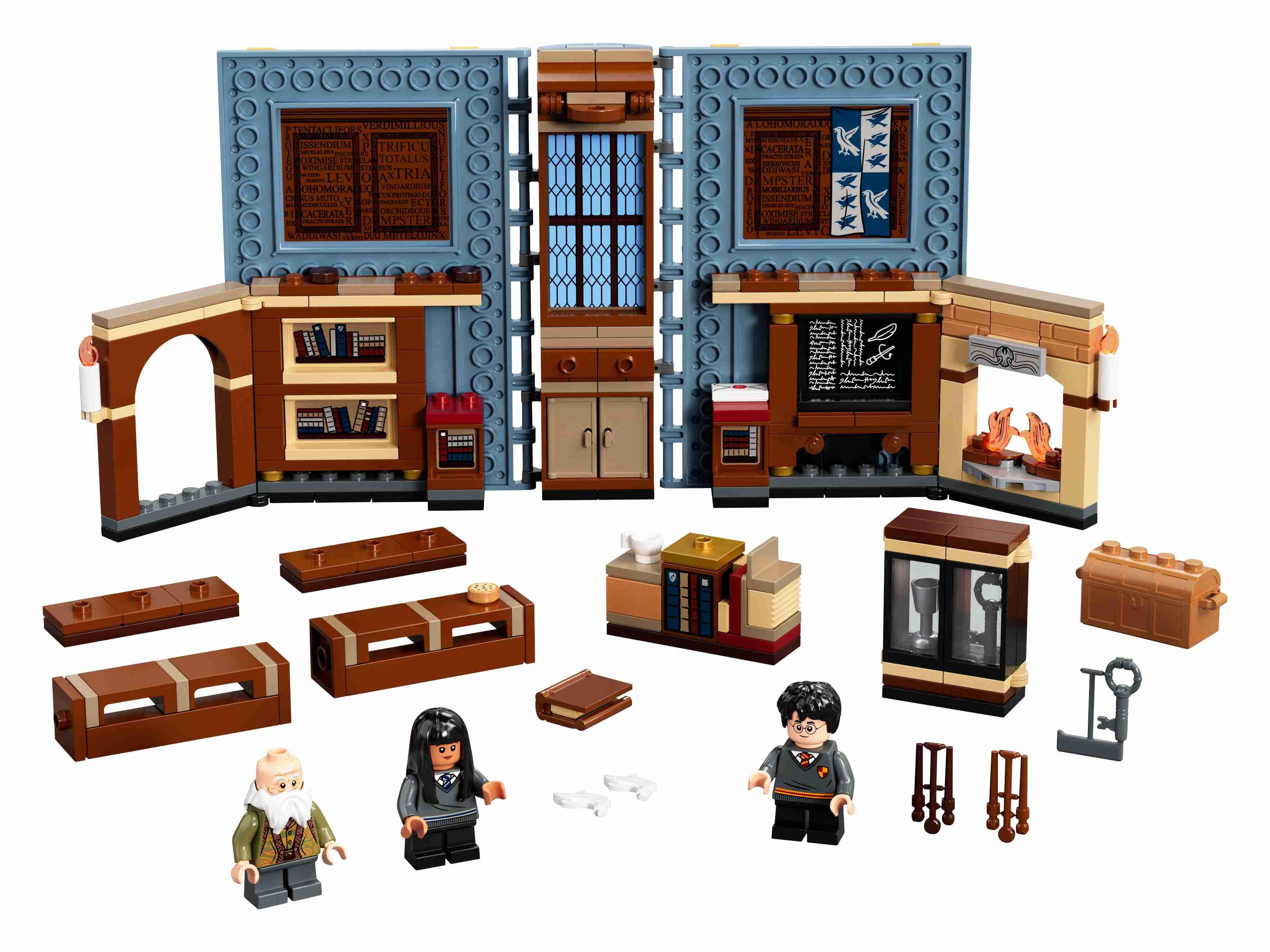 LEGO76385HarryPotterHogwartsMoment:ZauberkunstunterrichtSet + Minifiguren
