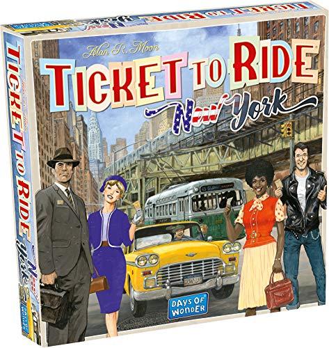 Days of Wonder - Ticket to Ride New York, mehrfarbig DOW720060