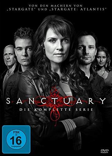Sanctuary - Wächter der Kreaturen - Die komplette Serie, 13 Discs