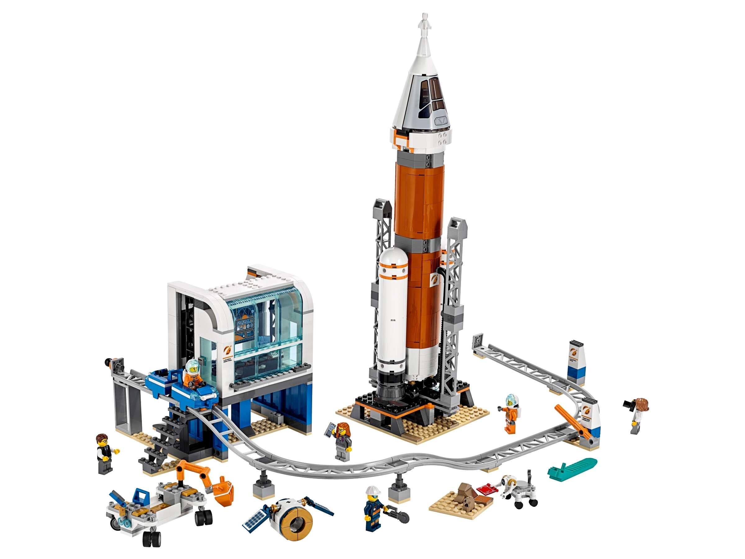 LEGO 60228 City Weltraumrakete mit Kontrollzentrum, Expedition zum Mars Set