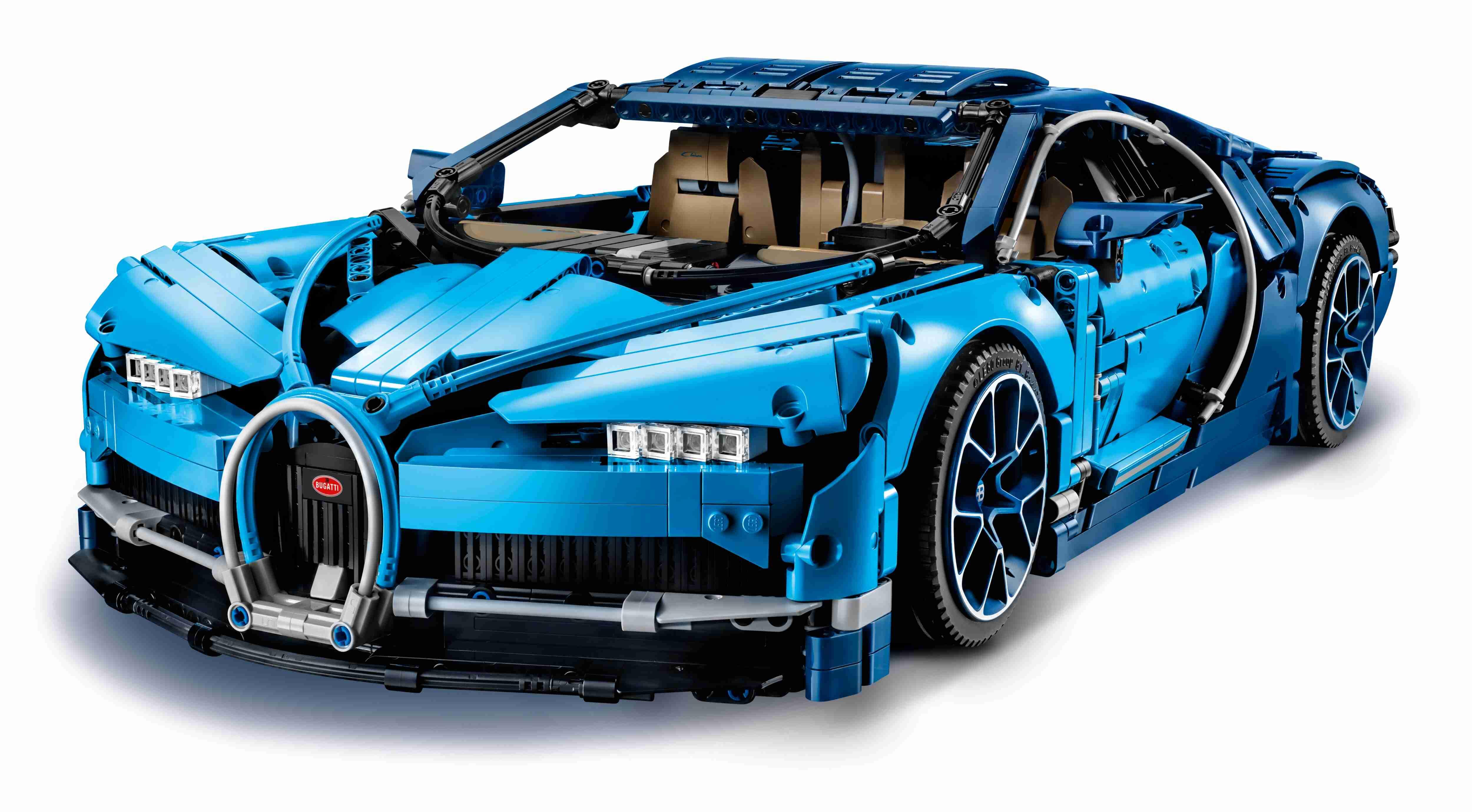 LEGO 42083 Technic Bugatti Chiron, Supersportwagen,