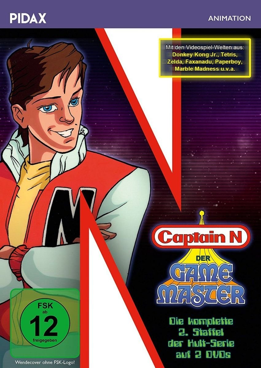 Captain N: Der Game Master - Die komplette 2. Staffel der Kultserie