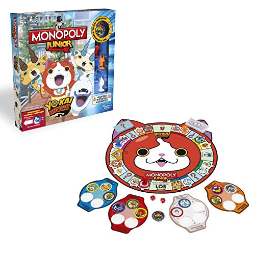 Yo-kai Watch Monopoly Junior Familienspiel