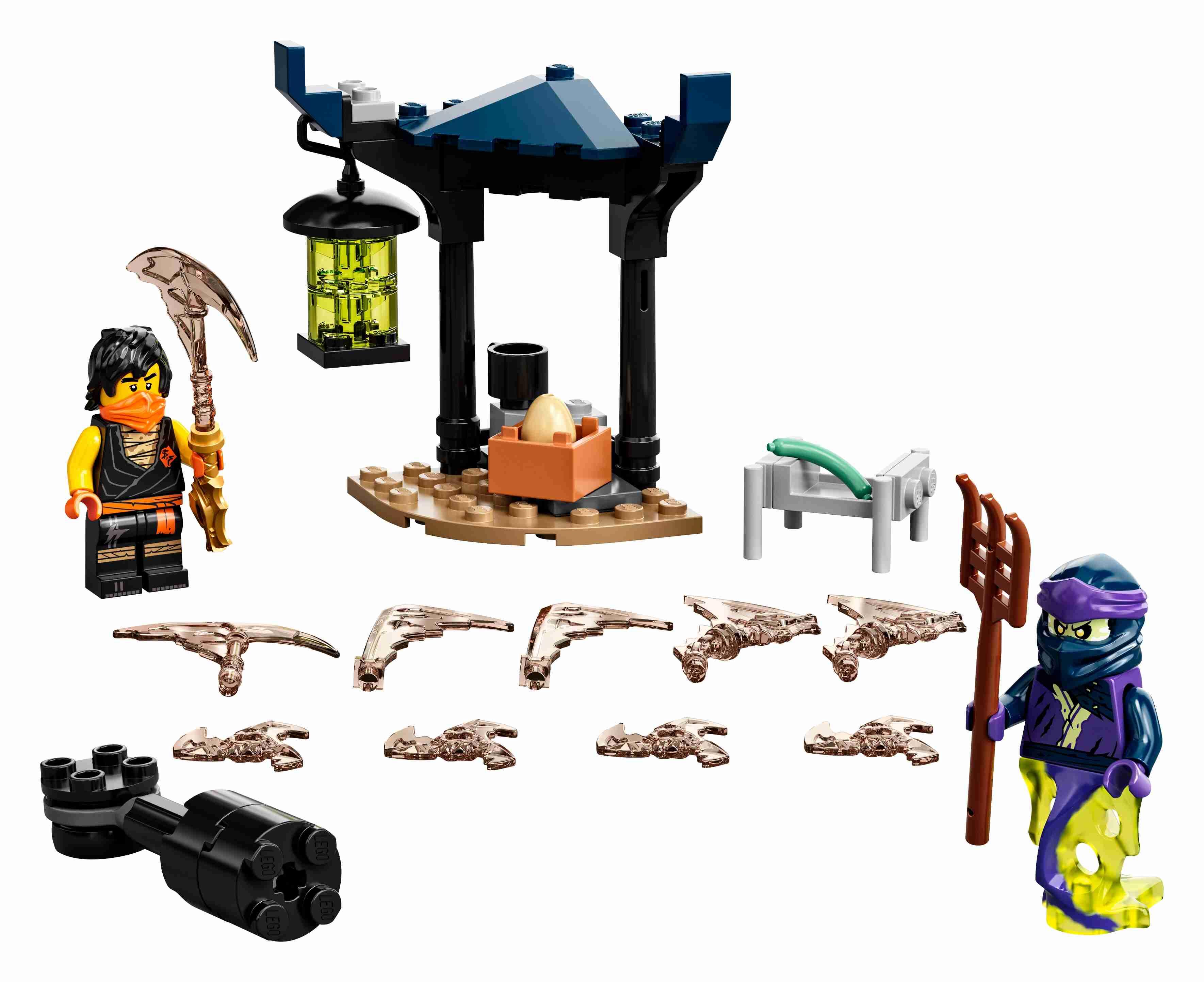 LEGO 71733 NINJAGO Battle Set: Cole vs. Geisterkämpfer