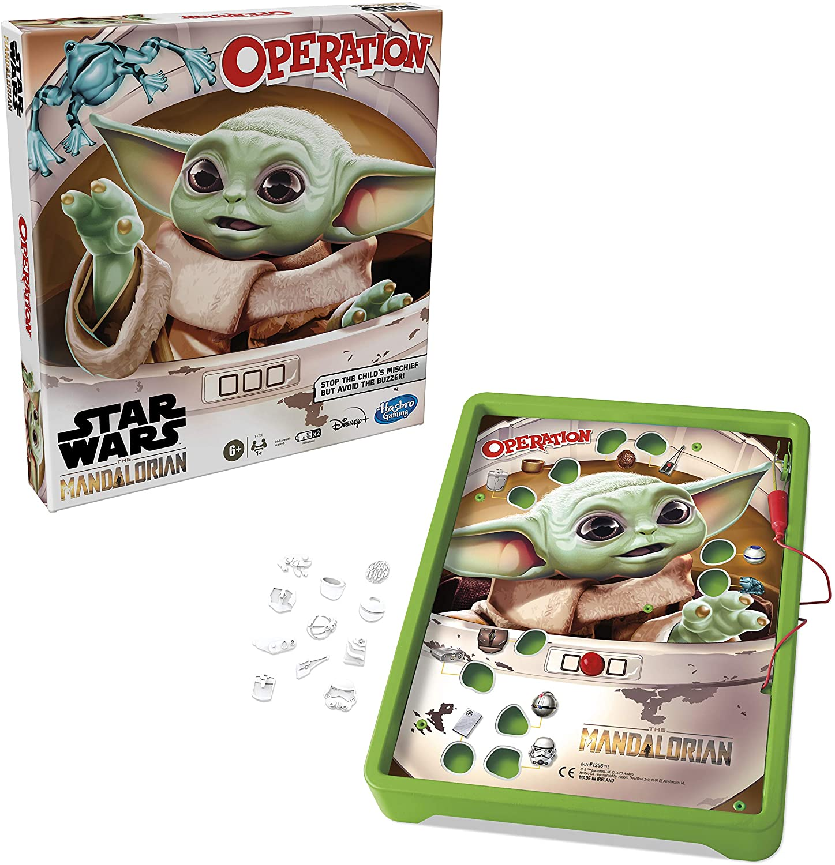 Star Wars Hasbro The Mandalorian Action Game Operation *English Version* Board