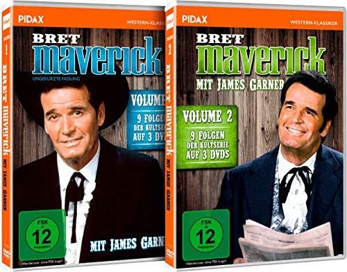 Bret Maverick - Vol. 1 + 2, Gesamtedition - 18 Folgen