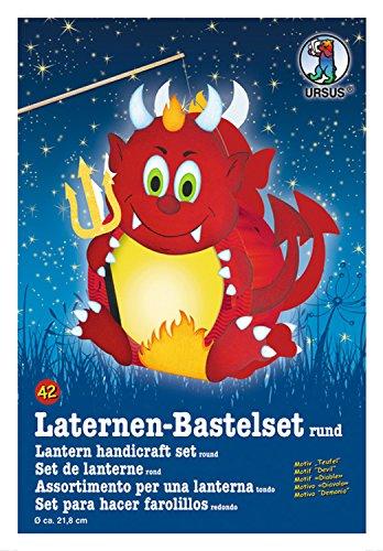 Ursus 18700042 Laternen Bastelset Teufel