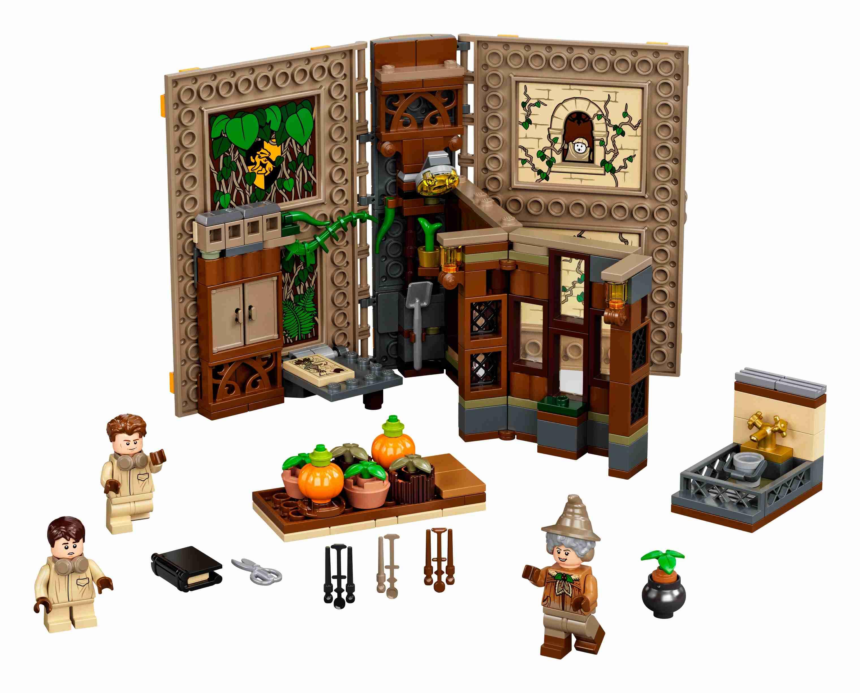 LEGO76384HarryPotterHogwartsMoment:KräuterkundeunterrichtSet + 3 Figuren