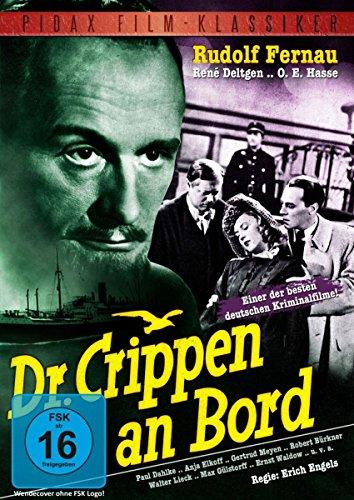 Dr. Crippen an Bord - Legendärer Kriminalfilm mit Starbesetzung