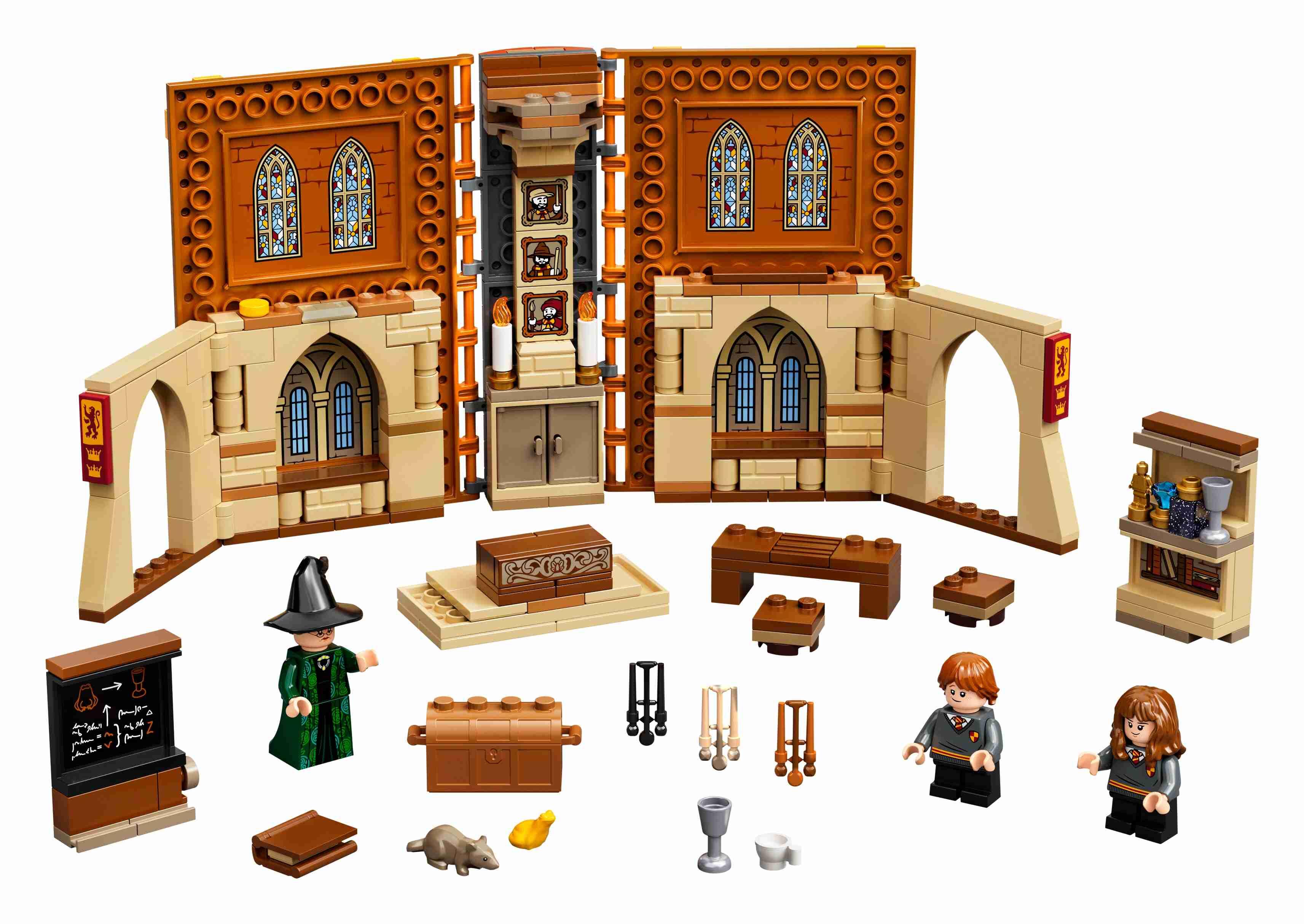 LEGO76382HarryPotterHogwartsMoment:VerwandlungsunterrichtSet