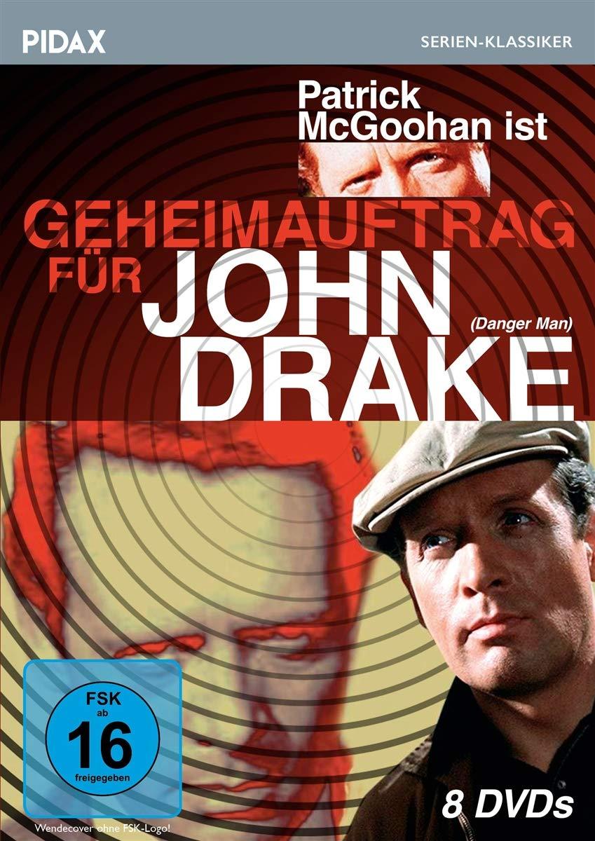Geheimauftrag für John Drake: 39 Folgen - 8 Discs