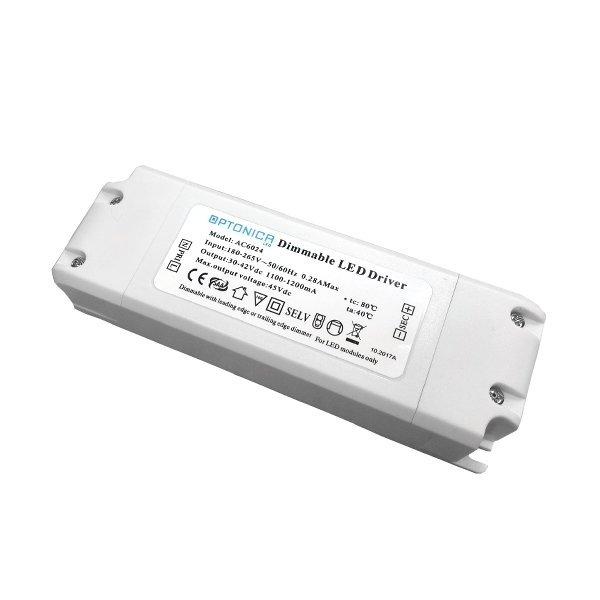 Optonica LED Panel Driver, 6019, 36W, AC175-265V, 900mA, IP20