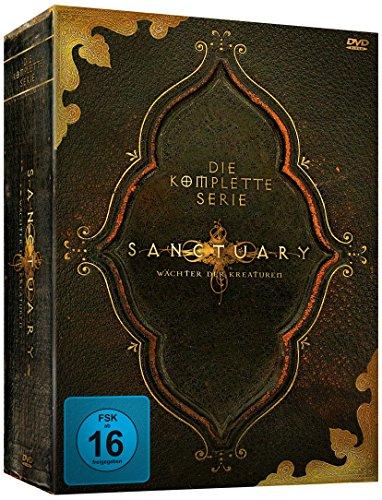 Sanctuary - Wächter der Kreaturen - Die komplette Serie, 19 Discs