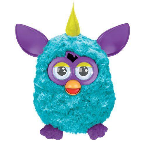 Furby Cool (türkis-lila, gelbe Haare)