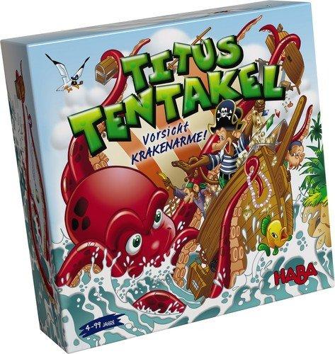 Titus Tentakel Familienspiel Brettspiel HABA 301366