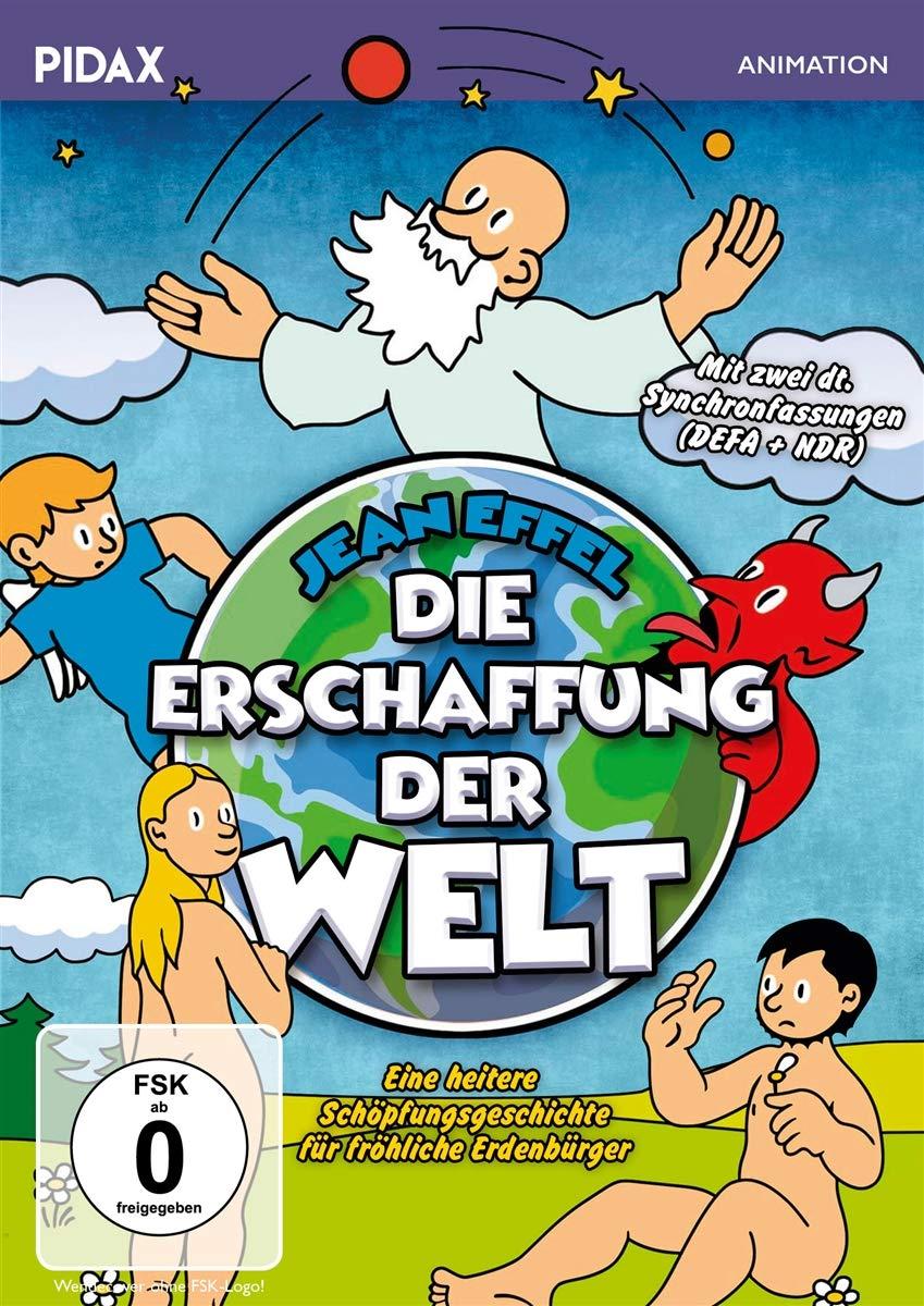 Die Erschaffung der Welt - Jean Effel - mit 2 deutschen Synchrongfassungen