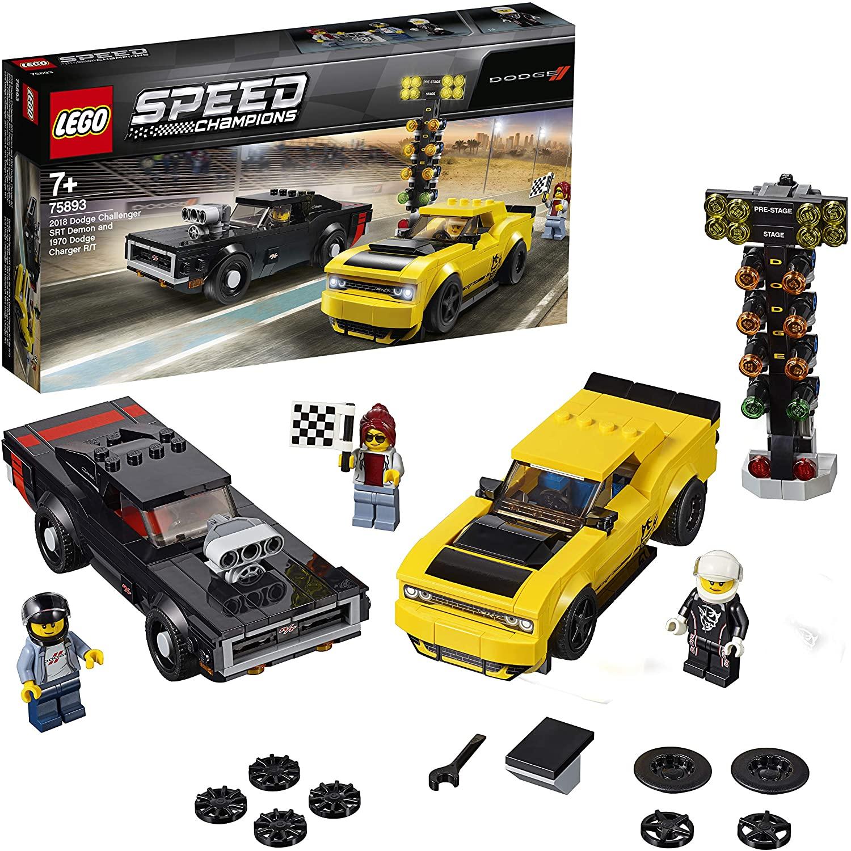 LEGO Speed Champions 75893 - 2018 Dodge Challenger SRT Demon und 1970 Dodge